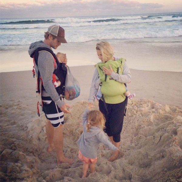 Chris Hemsworth Loves Being a Dad: ''I Just Have So Much Fun Doing It''—Plus, Who Does He Nominate for Sexiest Man Alive 2015?  Chris Hemsworth, Elsa Pataky, Instagram