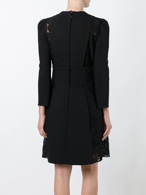 Dolce & Gabbana lace insert dress