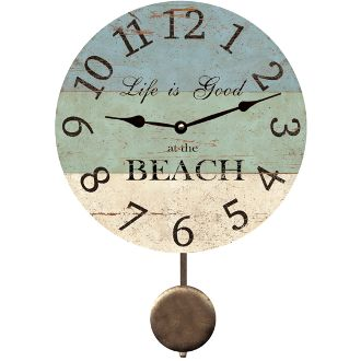 13 best beach house clocks images on Pinterest Beach front homes