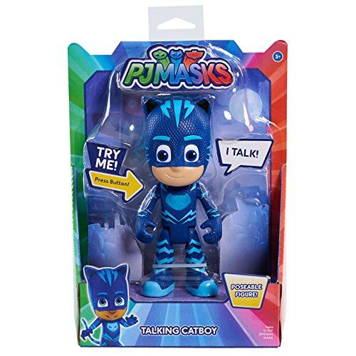 From 9 98 Pj Masks Deluxe 15cm Talking Figure Cat Boy Toys And