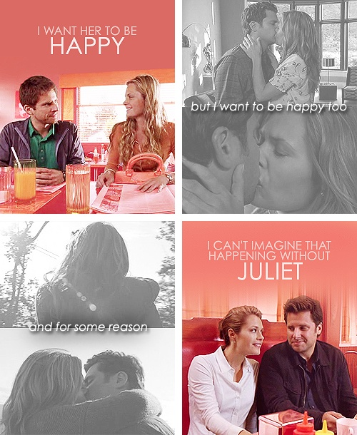 I want her to be happy. But I want to be happy to but for some reason ... I can't imagine that happening without Juliet. Shules <3  #psych