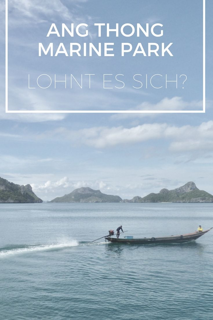 Ang Thong Marine Park - http://www.travelcurly.com/ang-thong/ - So macht paradiesisches Inselhüpfen Spaß :)