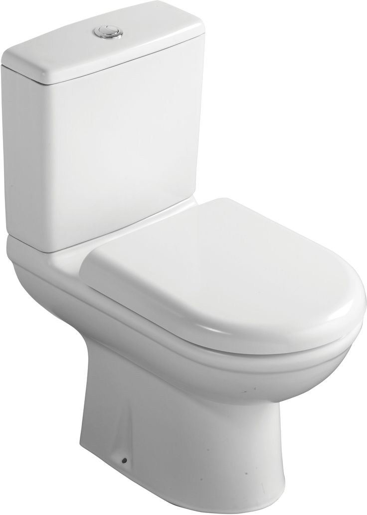 Ideal Standard Della Close-Coupled Toilet with Soft Close Seat | Departments | DIY at B&Q