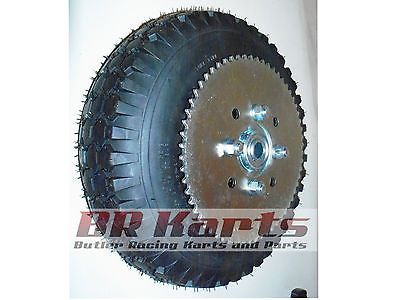 Parts and Accessories 64657: 4.10 3.50 Tire With 6 Split Rim And Sprocket (#35 72T) For Mini Bike, Go Kart New -> BUY IT NOW ONLY: $94.75 on eBay!