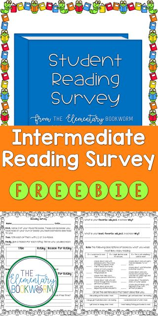The 25+ best Reading survey ideas on Pinterest Reading inventory - sample student survey