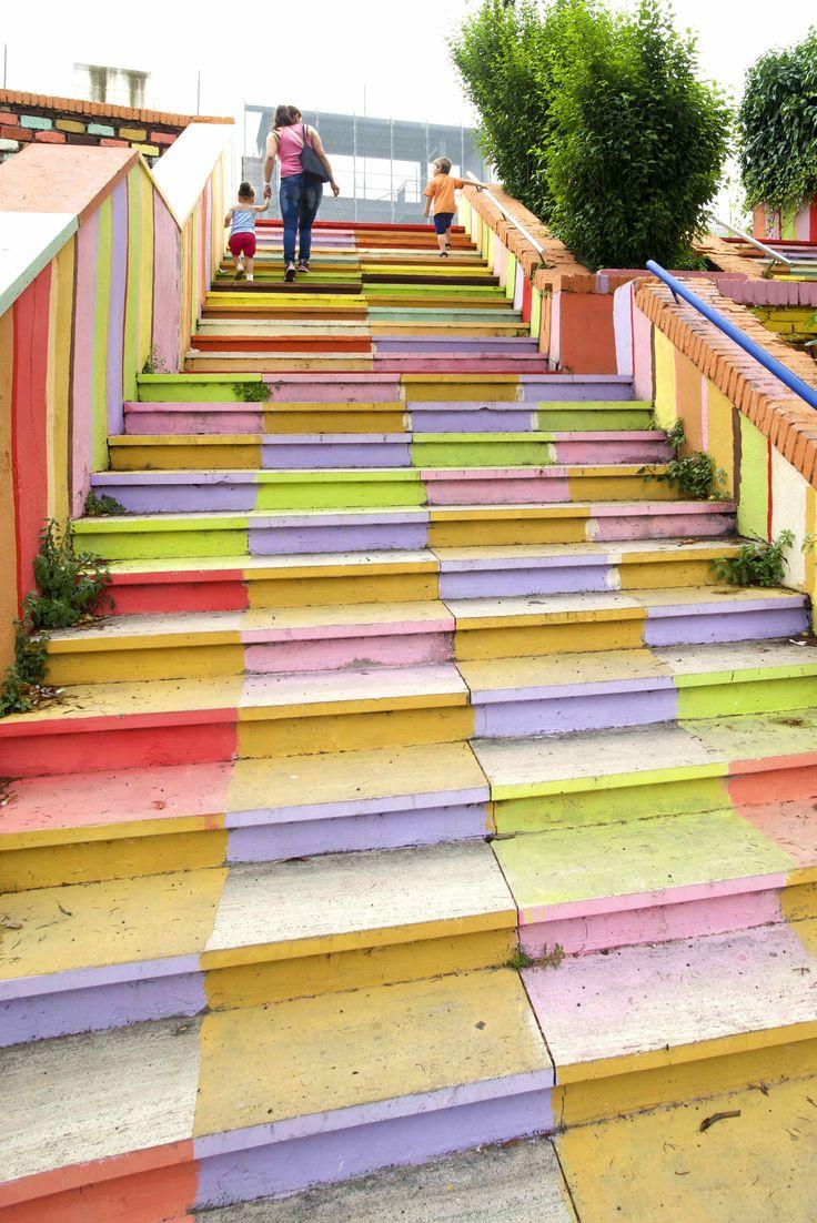 Quartiere del Trullo - La scala di Via San Raffaele