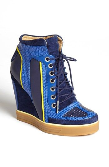 L.A.M.B. 'Summer'  High Top Wedge Sneaker available at #Nordstrom