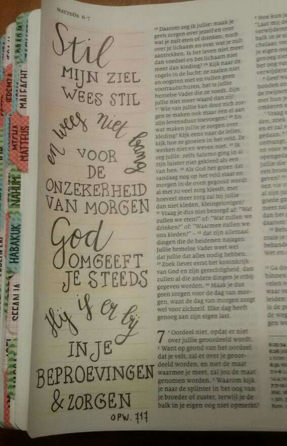 BIBLE ART IN GERMAN, (I THINK), AND RIGHT IN THE MIDDLE, THE ONE WHO UNITES NATIONS: GOD! THIS ARTIST IS MY SISTER!