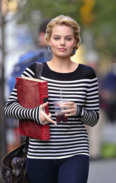 "Margot Robbie Photos: Kelli Garner on set of ""Pan Am"" in New York"
