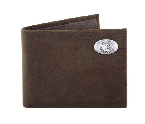 NCAA Florida State Seminoles Light Brown Crazyhorse Leather Bifold Concho Wallet, One Size by ZEP-PRO. NCAA Florida State Seminoles Light Brown Crazyhorse Leather Bifold Concho Wallet, One Size. One Size.