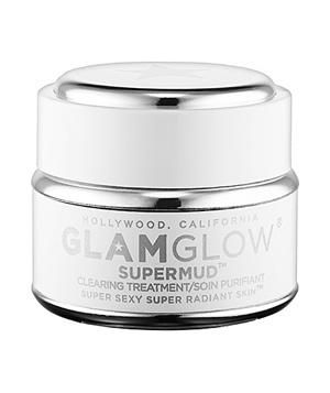 GLAMGLOW Supermud Clearing Treatment: Cleanse pores and leave your complexion brighter and smoother with a purifying mud mask that can be used as an all-over treatment or a targeted acne-zapper.