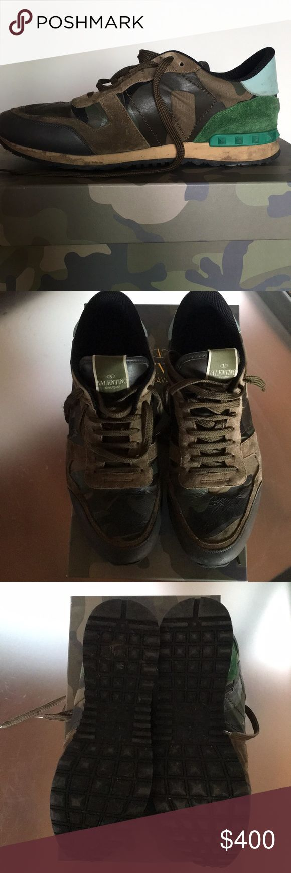 Valentino garavani mens shoes Great condition! Valentino Garavani Shoes Sneakers