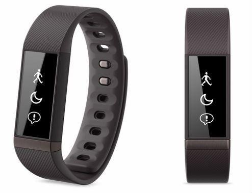 Liquid Leaf, uma pulseira high tech que monitora sua saúde e ainda mostra as notificações do celular, de sms e de emails, assim como as horas também.