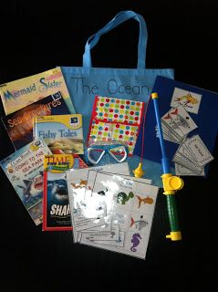 Ocean Literacy & Math take home bag                                                                                                                                                                                 More
