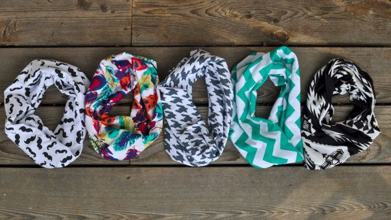 Baby Infinity Scarves by TheGoldenSparrowShop on Etsy, $16.00