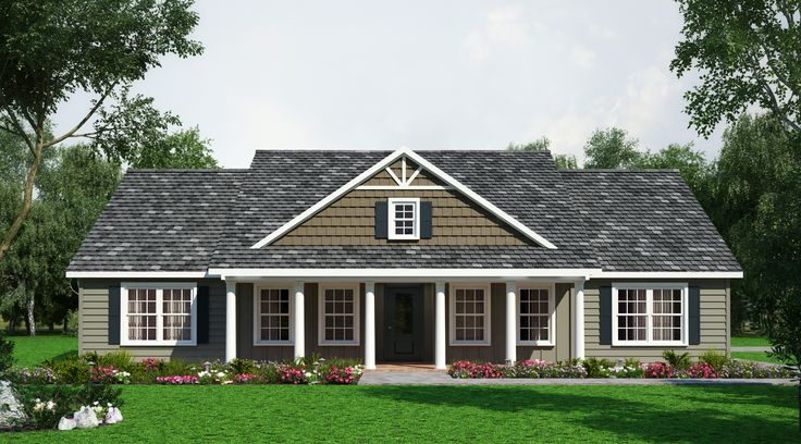 334 best floor plans images on pinterest house floor for Country style modular homes