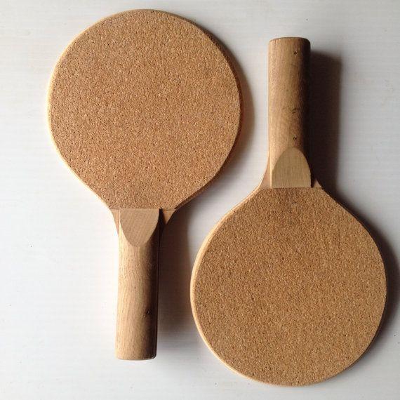 Houten Ping Pong peddels  Tafeltennis peddels  hout door GingerNIrie