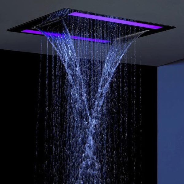 17 Best Images About Chromotherapy Shower Fixtures On