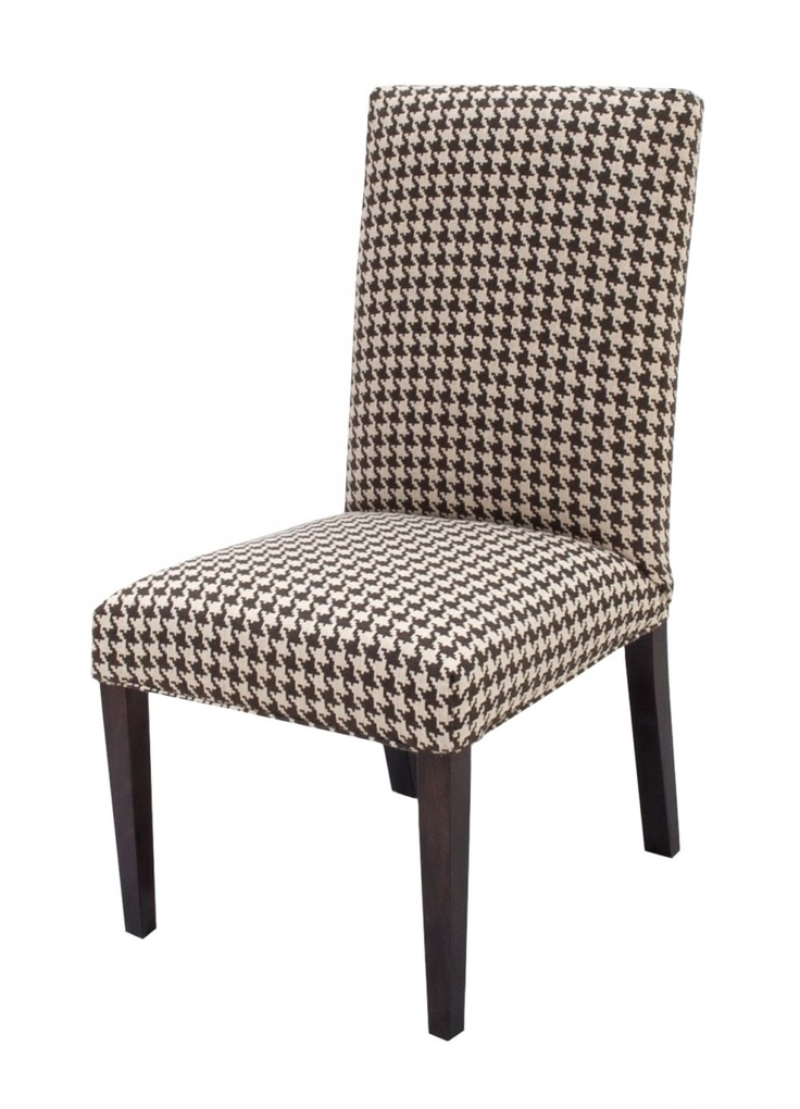 Houndstooth Parsons Chair