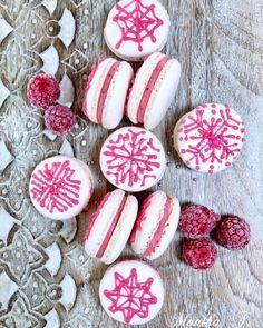 Macarons mit Himbeeren - Mascarponecreme