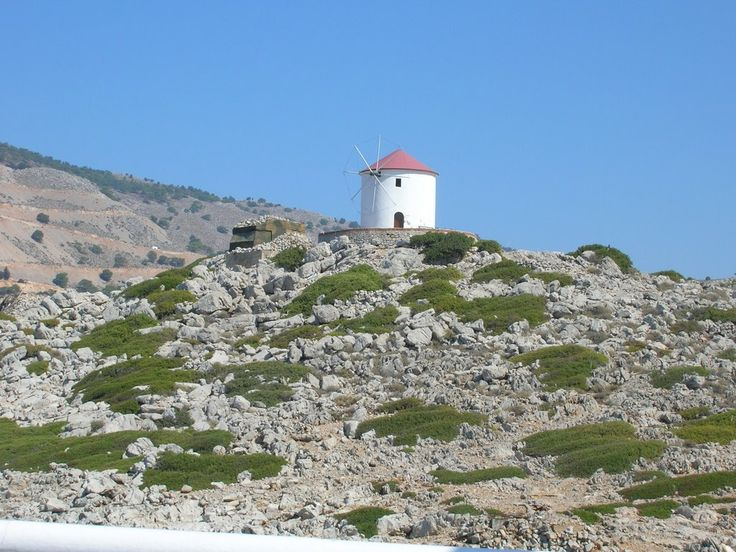 #windmill on Panormitis, #Symi