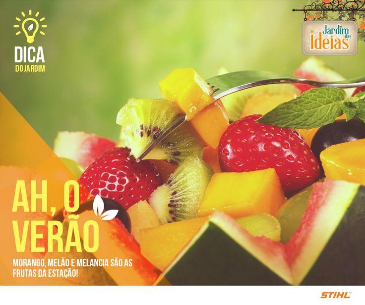 Que tal aproveitar o sábado e fazer uma salada de frutas caprichada para afastar o calor? Além da maçã, da banana e do mamão, que tal adicionar algumas frutas da estação?