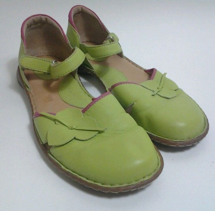 Born Shoes Sandals Lime Green Women Size 8.5 Ankle Strap