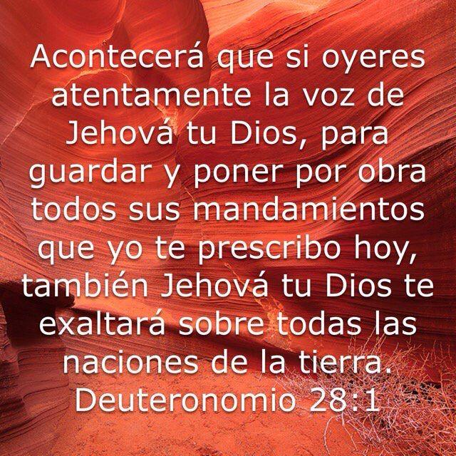 Versículo del día  Deuteronomio 28:1