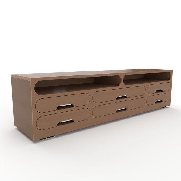 3D Tv Stand Model - 3D Model