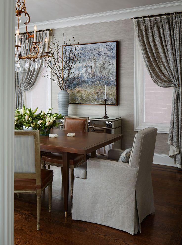 Lincoln Park Victorian Dining Room by #TomStringerDesignPartners #TSDP