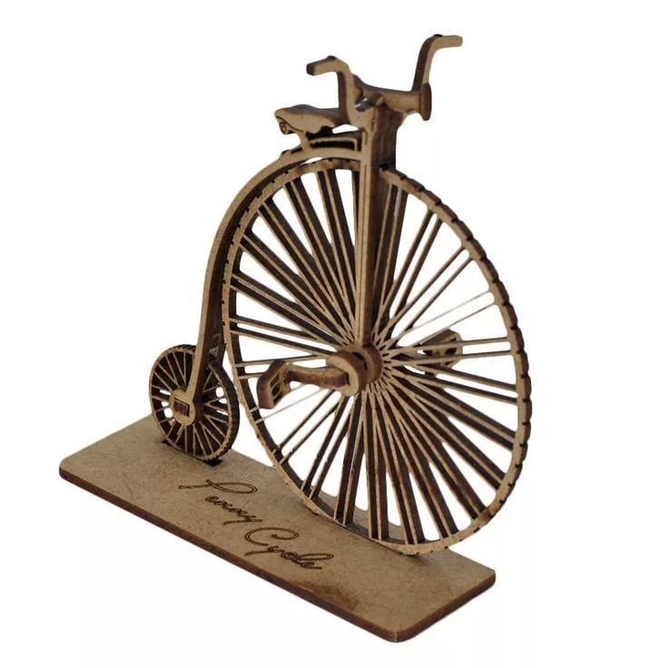 Quebra Cabeça 3d. Bicicleta Antiga Penny Cicle. Miniatura - R$ 25,00 no MercadoLivre
