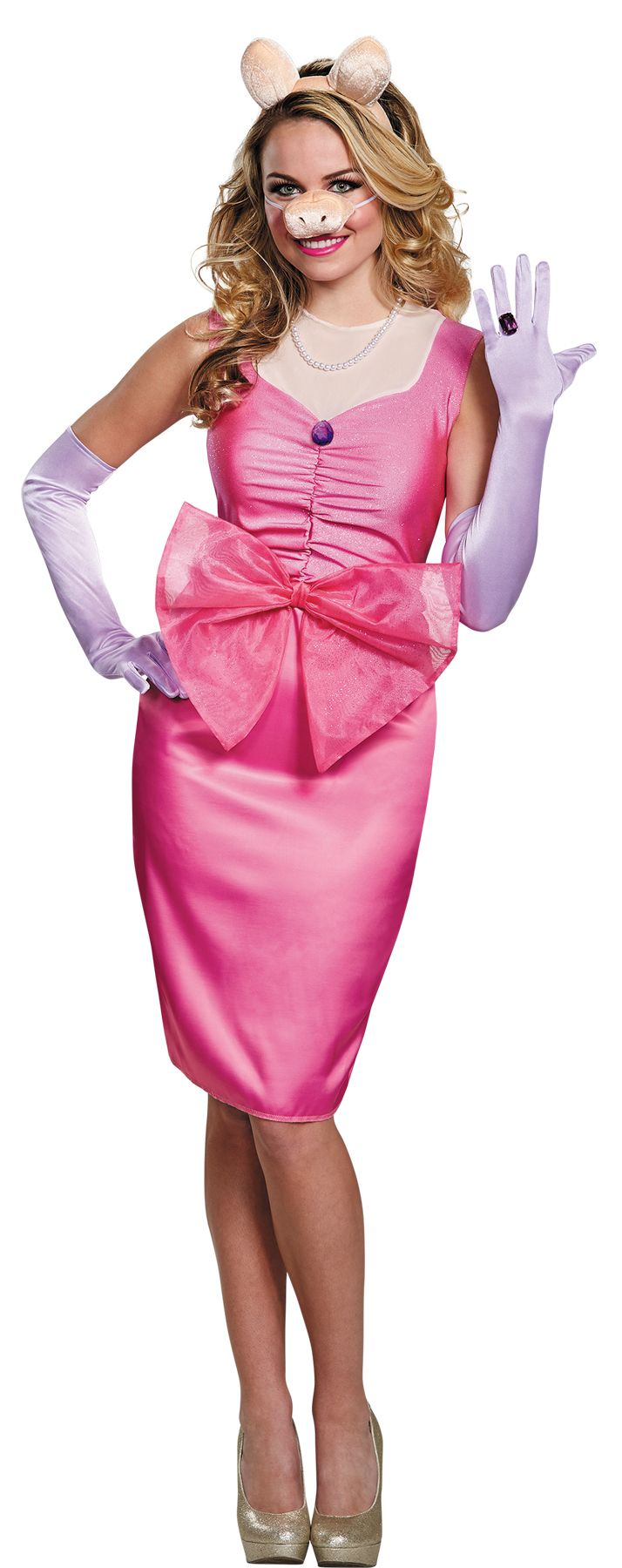 Women's Miss Piggy Deluxe Costume in 2019 Miss piggy
