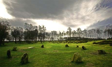 The Peak District! This pic is near lovely Birchover, The Nine Ladies Stone Circle in the White Peak of Derbyshire, one of my very favourite places!