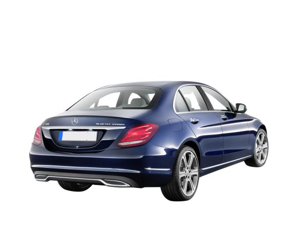 Metallic Cavansite Blue Mercedes Benz C Class 2009 the compact executive Cars Transparent Image Number Six