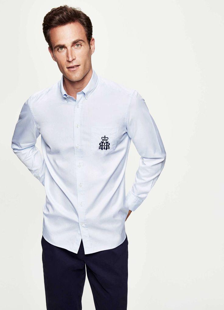 Henley Royal Regatta Royal Oxford Shirt - Chemises décontractées - Clothing - Hommes | Hackett