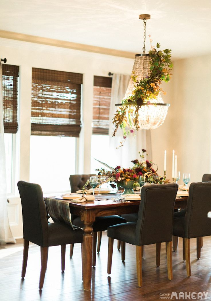 5 Thanksgiving Decorating Tips With Pottery Barn | Camp Makery. Grey Chair Table And ChairsDining ...