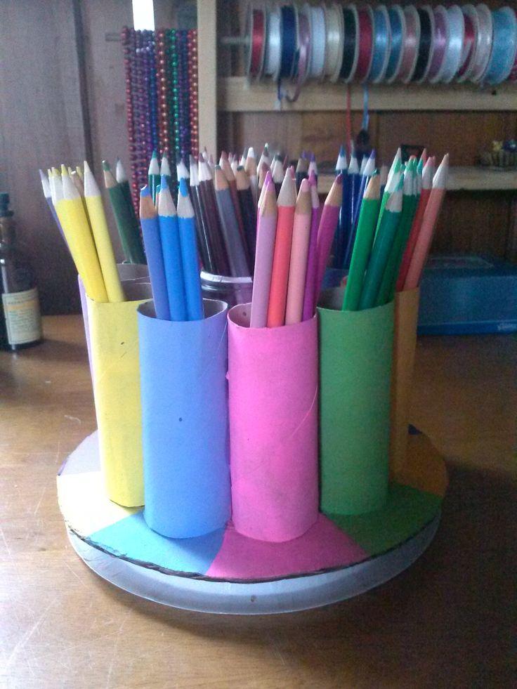 best 25 colored pencil storage ideas on pinterest gift. Black Bedroom Furniture Sets. Home Design Ideas
