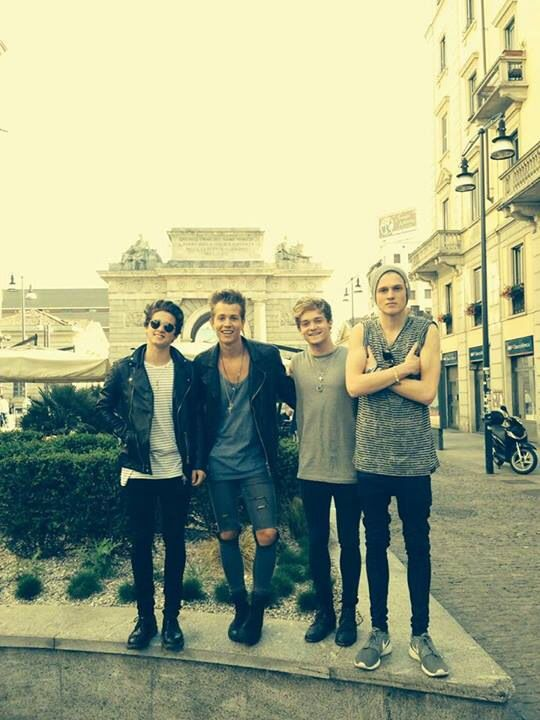 The Vamps in Italy 2014
