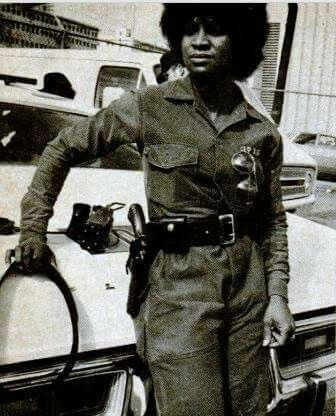 Mary Hall in 1976 she was the 1st women to be apart of the Atlanta Police Department SWAT team.