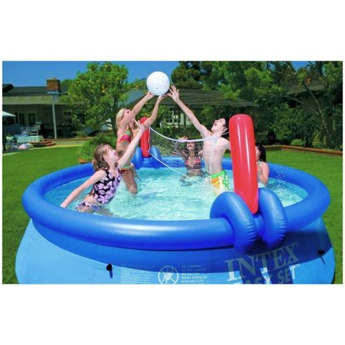 #Inflatable #volleyball and basketball toy game for 15' - 18' #intex easy set poo,  View more on the LINK: 	http://www.zeppy.io/product/gb/2/291483312229/