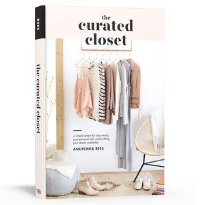 """""""The Curated Closet"""" is available for pre-order now!  All the links plus the full table of contents and a few sneak peeks are up on the blog now (link in bio). Thank you @kellypuleio for the amazing cover!  #thecuratedcloset #tenspeedpress"""