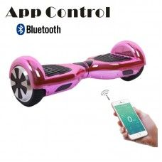 "App Control-6.5""Balance Scooter -Hoverboard(Chrome Pink)"