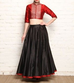 Image result for indian skirt and crop top set