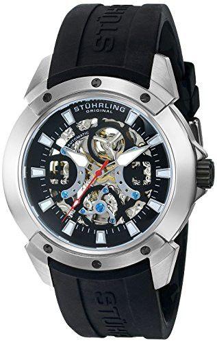 Reloj Stuhrling Original Crisol Automático tono Plata 266.33161  | Antes: $1,815,000.00, HOY: $474,000.00