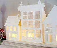 Ciudad de papel | Descargas Gratis para Imprimir: Papiroflexia, Tarjetas de Cumpleaños, Manualidades, adornos Navidad, Deco. Imprimibles gratis de papel .Freebies.