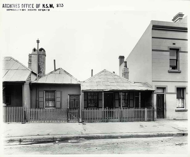 84 - 86 Princes Street, Sydney (NSW) Rocks Resumption photographic survey. State Records NSW - Photo Investigator