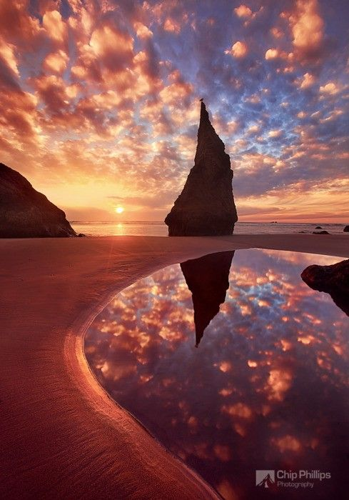Wizards Hat, Bandon Oregon: Hats, Wizardshat, Oregon, Nature, Sunset, Place, Photo, Wizard S Hat