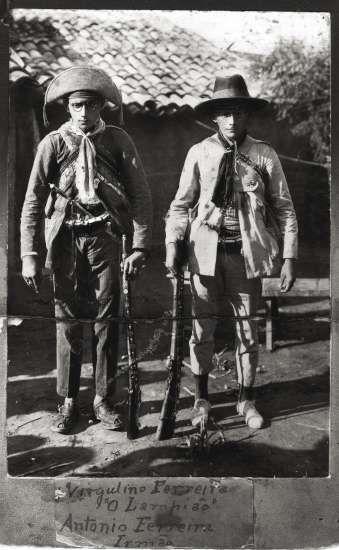 Lampião e seu irmão Antonio Ferreira