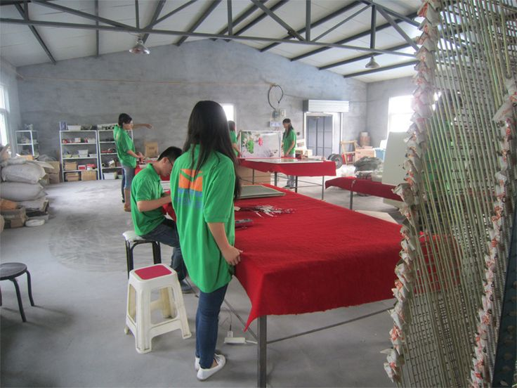 Here are the picture of our new second production factory.