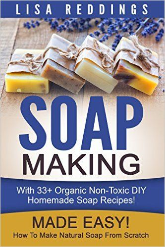 interested in learning how to make soap?  check out this free ebook with 33 homemade soap recipes